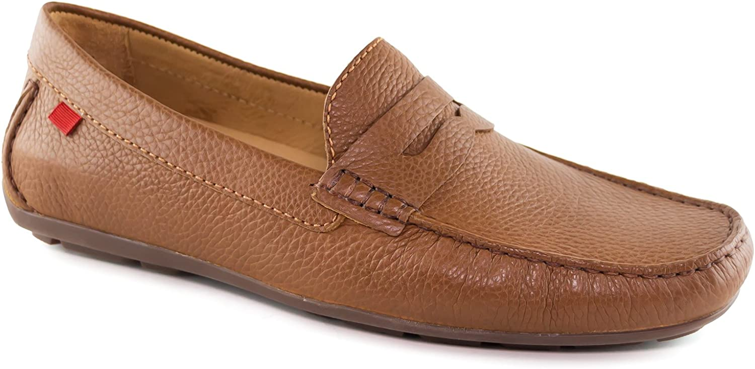 MARC JOSEPH NEW YORK New color Mens Genuine Comfort Leather Slip on Casual cheap
