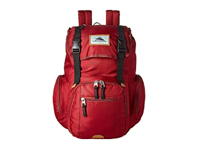 High Sierra Emmett 2 Backpack (Chili Pepper/Black) Backpack Bags