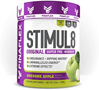 STIMUL8®, Original Super Pre-Workout for Men and Women, Stimulate Workouts Like Never Before, Unparalleled Energy, Extreme Effects, Ultimate Preworkout, 40 Servings