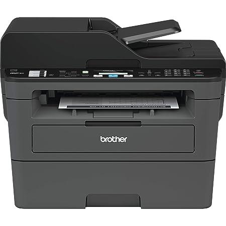 Brother mfcl2710dw–Imprimante Multifonction Laser Monochrome avec fax e Impression (30ppm Duplex, USB 2.0, WiFi, Ethernet, WiFi Direct, processeur de 600MHz, mémoire de 64MB) Gris