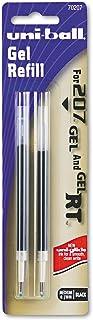 Uniball Signo Retractable207 Gel Refill Black Medium 2 Pk