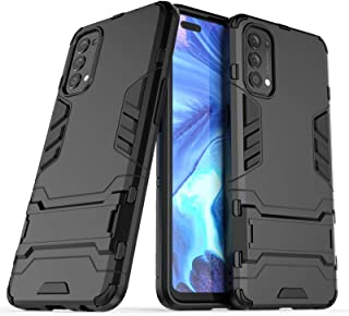 Cellphone Hard Case PC + TPU Shockproof Protective Case with Invisible Holder Protective Case Covers