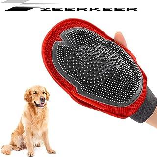 LANGING Guante de Mascotas Kit de Cepillo de Limpieza de Mascotas Mascotas Retiro del Pelo
