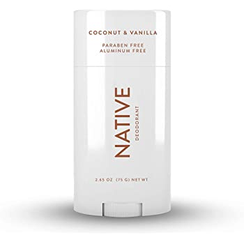 Native Deodorant - Natural Deodorant for Women and Men - Vegan, Gluten Free, Cruelty Free - Contains Probiotics - Aluminum Free & Paraben Free, Naturally Derived Ingredients - Coconut & Vanilla
