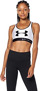 Under Armour Women's Armour Mid Keyhole Graphic Bra