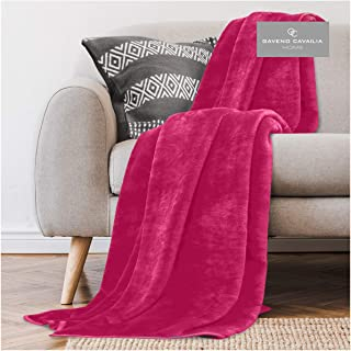 Gaveno Cavailia Faux Fur Throw Sofa Bed Mink Blanket, Super Soft Fluffy Easy Care Lightweight Luxury Design, Cosy Warm Set...
