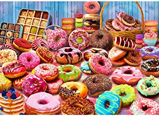 Fun Challenge Donut Shop Bakery Puzzle for Adults and Kids 1000 Piece Jigsaw Puzzle Toy 28 x 20 Inches Interactive Brain Teaser for Family Game Night