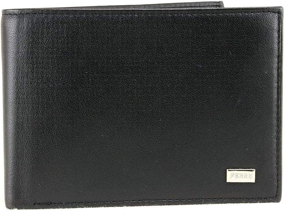 gianfranco ferrè porta carte di credito portafoglio per uomo in vera pelle 021 012 14 001