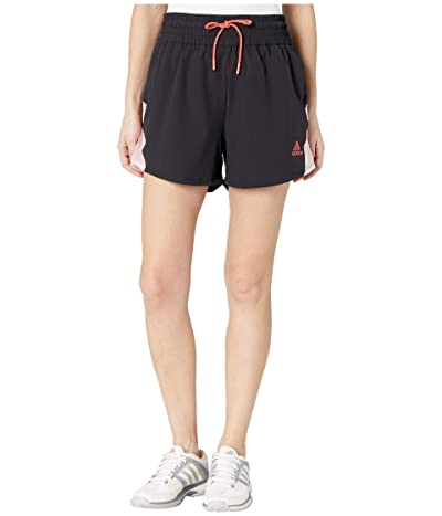 adidas Golf Pull-On Color Block Shorts (Black) Women