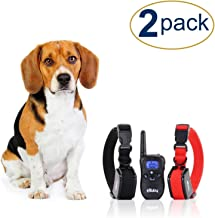eXuby 2X Shock Collar for Small Dogs w/ 1 Remote & Training Dog Clicker – 3..