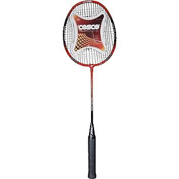 Cosco CB-95 Black & Red Badminton Racquet - Black-Red