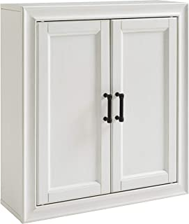 Crosley Furniture  Tara Bathroom Wall Cabinet, Vintage White