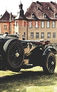 Notebook: oldtimer castle nostalgic old summer nostalgia classic car
