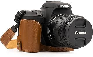 MegaGear MG1308 Estuche para cámara fotográfica - Funda (Funda Canon Canon EOS Rebel SL2 Kiss X9 Tirante para Hombro Marrón)