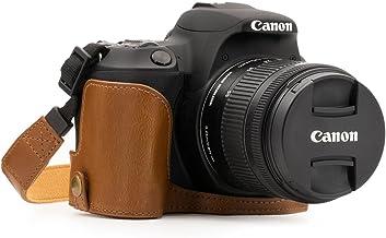MegaGear MG1308 Estuche para cámara fotográfica - Funda (Funda, Canon, Canon EOS Rebel SL2, Kiss X9, Tirante para Hombro, Marrón)