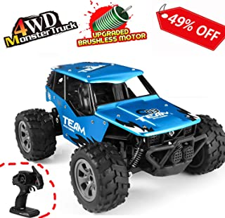 Vandoras RC Car Toys, Off Road Cars Vehicle 4WD 2.4Ghz 1/16 Crawlers Off Road Vehicle Toy Remote Control Car, Best Gift for Kids and Adults