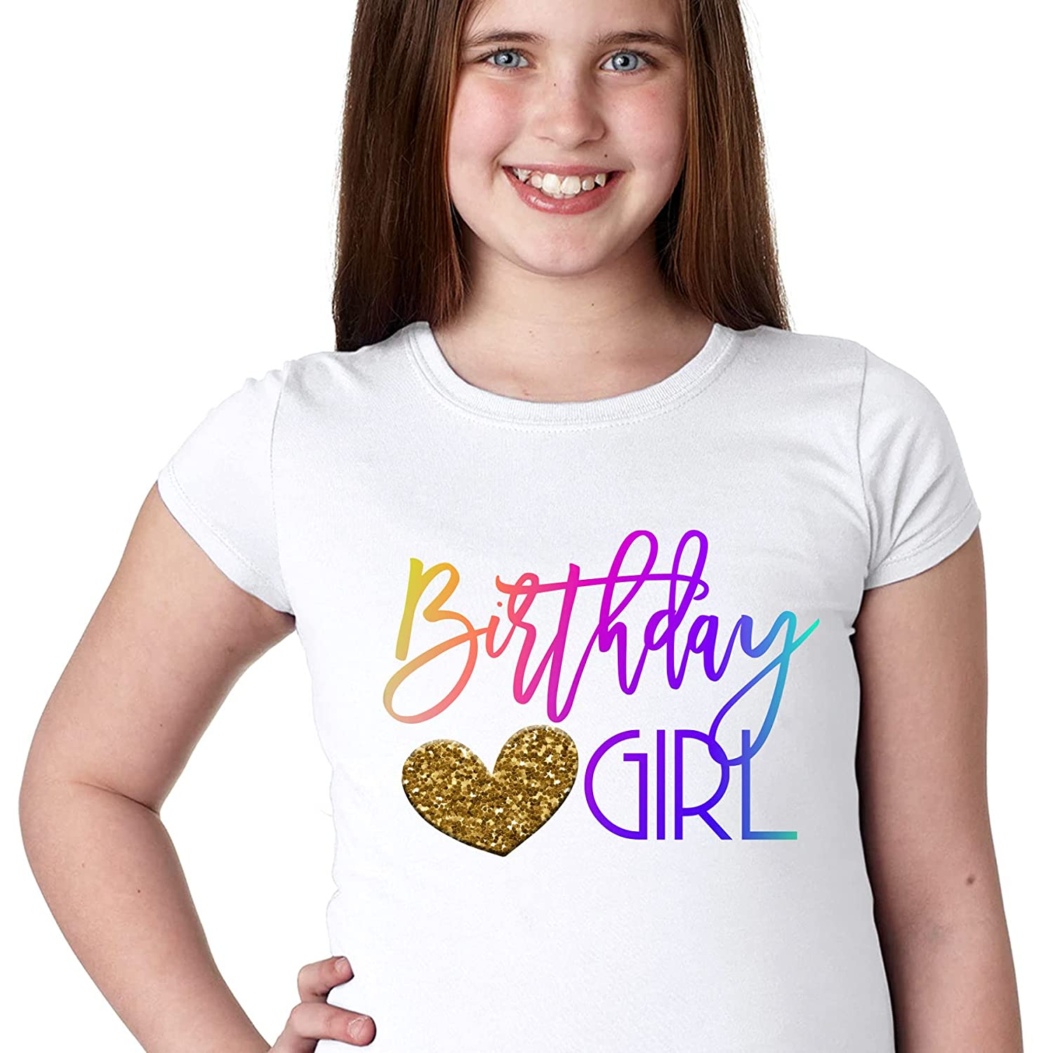Birthday Attention brand Manufacturer regenerated product Girl Tshirt Its Gift My for