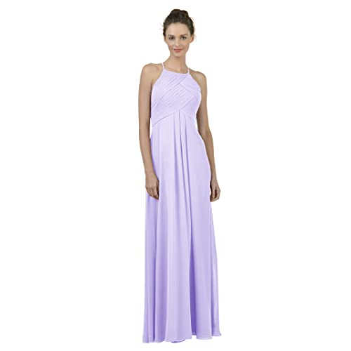7ab0c870d965 Alicepub Long Chiffon Bridesmaid Dress Maxi Evening Gown A Line Plus Party  Dress