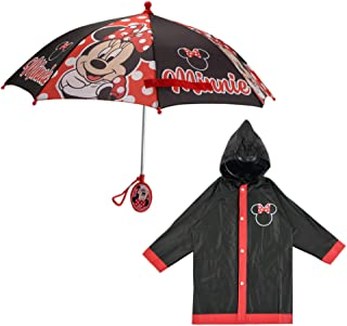 Umbrella and Slicker Set, Toddler or Little Girl Rainwear