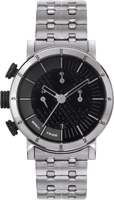 Reloj BREIL para Hombre Modelo Lil Tribe con Pulsera Acero, Movimiento CRONO Cuarzo