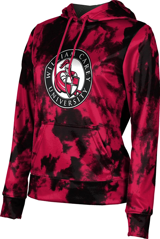 William Carey University College Girls' Pullover Hoodie, School Spirit Sweatshirt (Grunge)