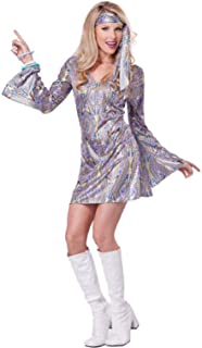 70's Disco Dance Sensation Dancing Queen Outfit Adult Costume