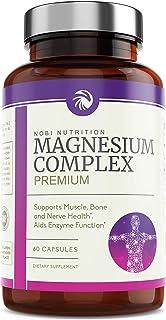 Nobi Nutrition High Absorption Magnesium Complex – Premium Magnesium Supplement for..
