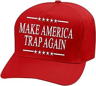 e2cde58e20511a Make America Trap Again Campaign Hat Cap Hip hop Gucci Mane Kevin Gates Red