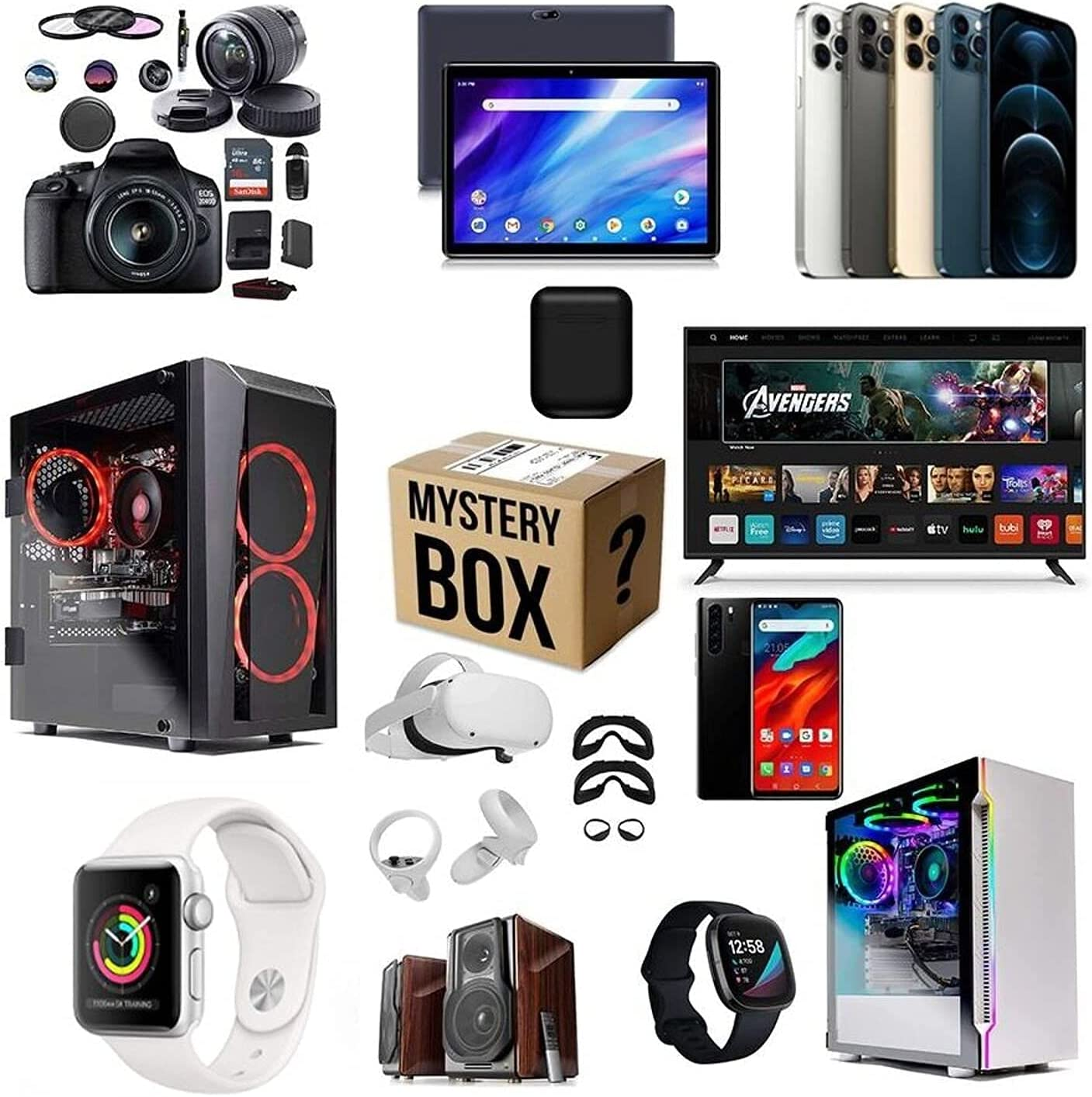 Mystery shopping Lucky Box Mysteries Popular overseas Electronic Boxes Mysteri