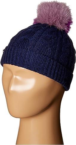 Burberry Kids - PPM Cable Knit Hat (Little Kids/Big Kids)