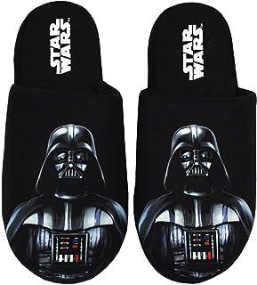 Star Wars Zapatillas de Hombre Darth Vader Dark Side Polyester House Shoes