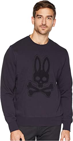 Loop Embroidered Logo Sweatshirt