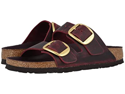 Birkenstock Arizona Big Buckle (Zinfandel Oiled Leather) Women
