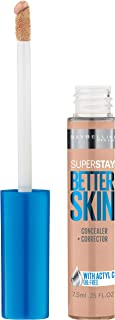 Maybelline New York Superstay Better Skin Concealer, Light/Medium, 0.25 Fluid Ounce
