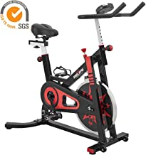 RELIFE REBUILD YOUR LIFE Exercise Bike Stationary Indoor Cycling Gym Resistance Workout Home Gym Fitness Machine Upright Bike
