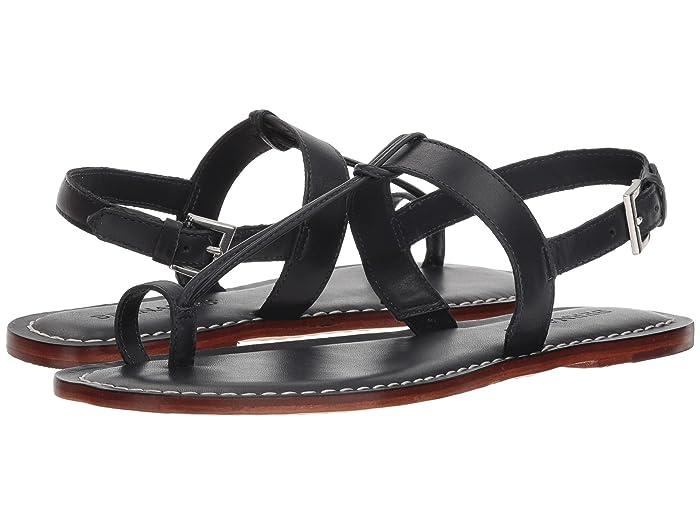 Bernardo  Maverick (Navy Antique Calf) Womens Sandals