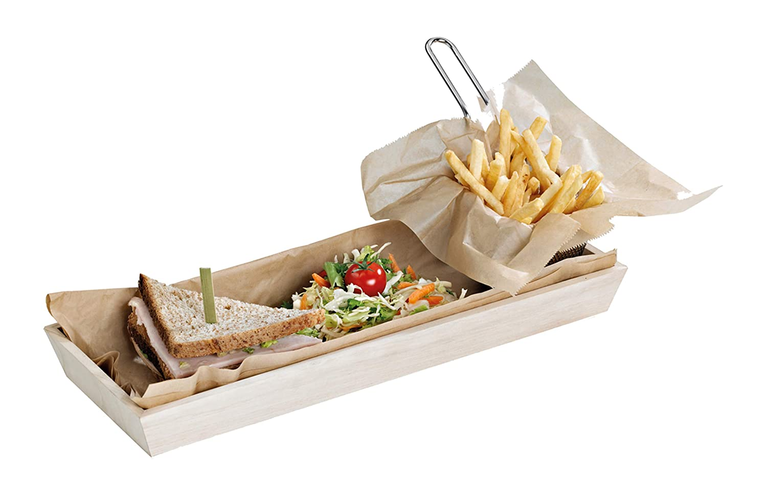 Noah15 Heavy Duty Wooden Tray Cheap mail order sales Case 10 Beauty products PacknWood - of Biodegra