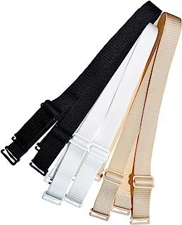 Closecret Lingerie Accessori Ladies Reggiseno elastico regolabile rimovibile per reggiseno con spalline da 12 mm e 15 mm di larghezza confezione da 3