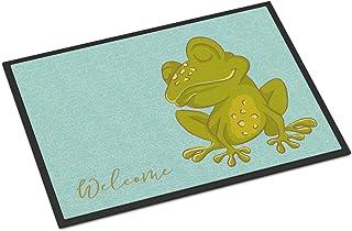 Caroline's Treasures BB8563MAT Fog Welcome Indoor or Outdoor Mat 18x27, 18H X 27W, Multicolor