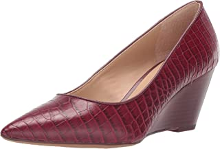 Burgundy Wine Red Bow Knot Leather women peep toes open plus sizes 4 5 6 7 8 9