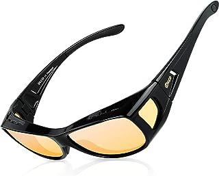 عینک بینایی Duco Night Vision ، بسته بندی قطبی در اطراف عینک نسخه