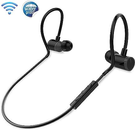 In Ear Wireless Bluetooth Headphones - Waterproof Black...