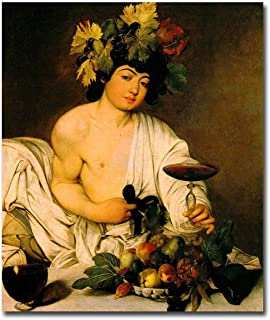 Artistic Home Gallery Bacchus By Caravaggio Premium Gallery-Wrapped Canvas Giclee Art (Ready-To-Hang)