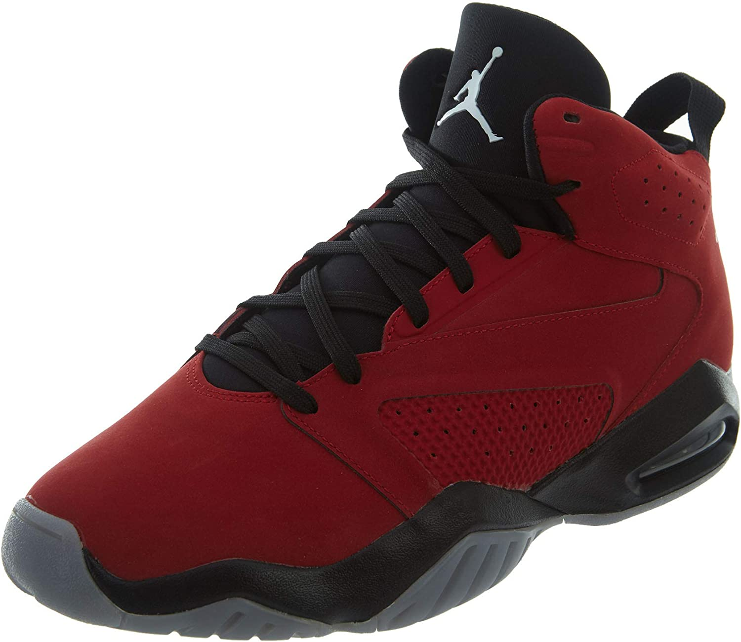 Nike Jordan Mens Jordan Lift Off Synthetic Leather Gym Red Black Trainers 8 US