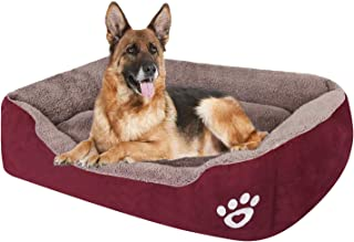 PUPPBUDD Pet Dog Bed for Medium Dogs(XXL-Large for Large Dogs),Dog Bed with Machine Washable Comfortable and Safety for Me...
