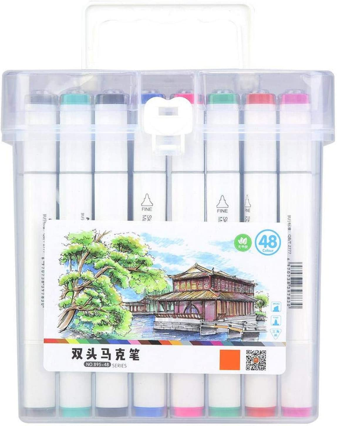 Art Supplies Alcohol Dual Head Tips for Store Markers Drawing Pen Max 67% OFF Set
