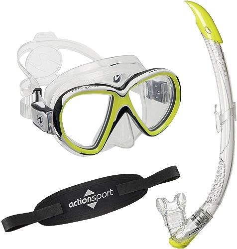 AquaLung Reveal X2 Kit de snorkelling, tuba avec valve Zephyr