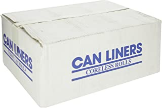 Spectrum C334016N HDPE Institutional Trash Can Liner, 33 gallon Capacity, 40