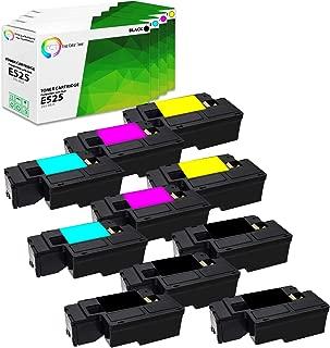 TCT Premium Compatible High Yield Toner Cartridge Replacement for Dell E525W MFP Printers (Black 593-BBJX, Cyan 593-BBJU, Magenta 593-BBJV, Yellow 593-BBJW) - 10 Pack