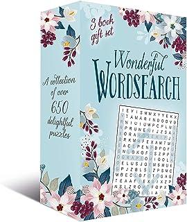 مجموعة هدايا رائعة من 3 كتب واندرفول ورد سيرش